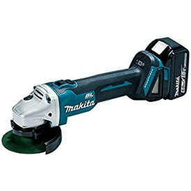 マキタ GA404DRGN 充電式ディスクグラインダー 18V 6.0Ah (100mmスライドスイッチタイプ)