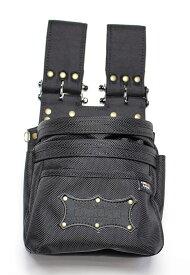 ニックス(KNICKS) 超軽量バリスティクナイロン3段腰袋【チェーンタイプ】 BA-301DDX