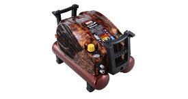 マックス(MAX) 塗装対応常圧専用エアコンプレッサ AK-L1270E2P 【常圧×2】【45気圧/11L/15kg】AK98330