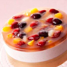【卵乳小麦アレルギー対応】すこやかストロベリームース(14cm)