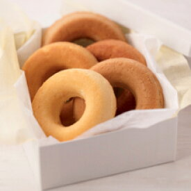 【卵乳小麦アレルギー対応】すこやかお米の恵み 焼きドーナツセット(マロン・いちご・メープルシュガー 各3個)