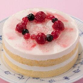 【卵乳小麦アレルギー対応】すこやかベリーベリー豆乳レアケーキ(14cm)