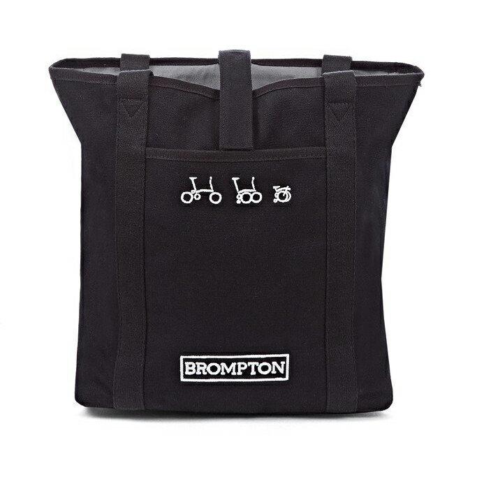 送料無料 並行輸入品 BROMPTON Tote Bag ブロンプトン トート バッグ (ブラック) 2016発売モデル