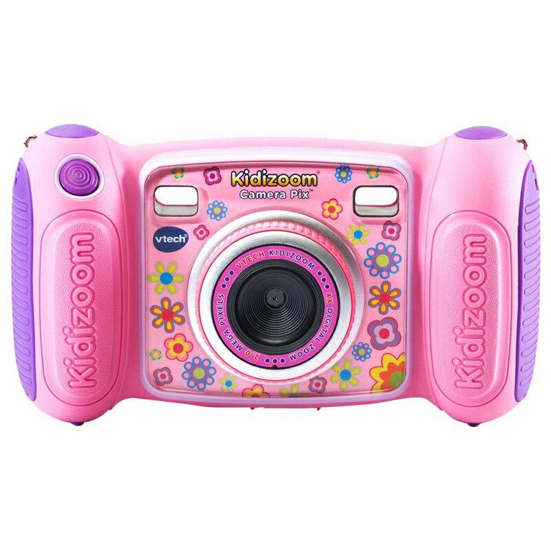 送料無料 VTech Kidizoom Camera Pix, Pink 80-193650 ヴイテック キディーズーム カメラ 子供用トイカメラ(MicroSD対応) ピンク 並行輸入品