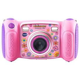 VTech Kidizoom Camera Pix, Pink 80-193650 ヴイテック キディーズーム カメラ 子供用トイカメラ(MicroSD対応) ピンク 並行輸入品