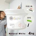 【送料無料 すぐ塗れる】4kg 西洋漆喰【Coral Tex コーラルテックス】ナチュラルホワイト(010)