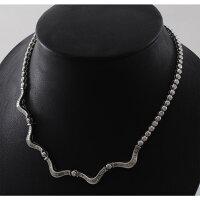 【B59】プラチナ900全周ダイヤモンド6.73ct・デザイン・ネックレス中古品
