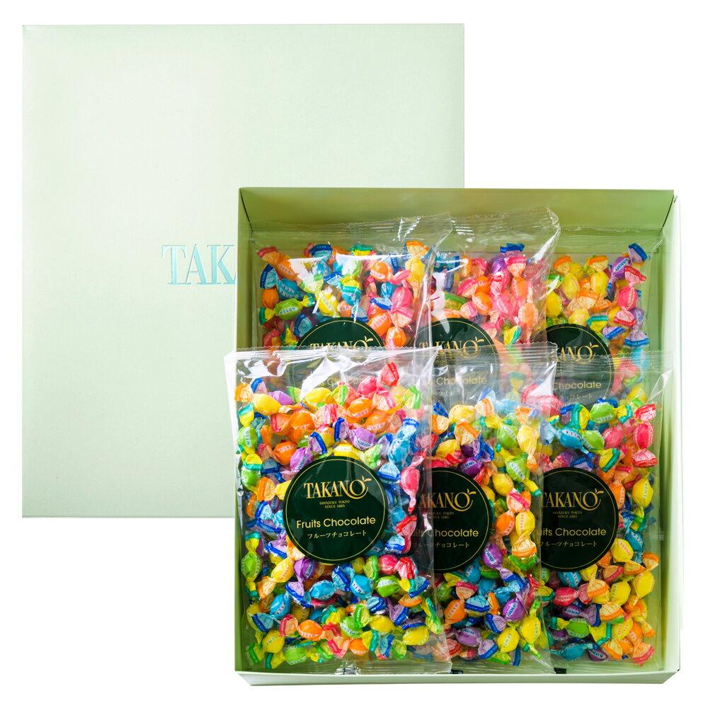 新宿高野 フルーツチョコレート平袋6入EA