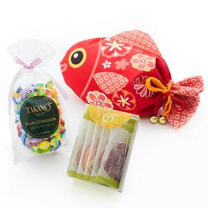【公式】 新宿高野 めで鯛巾着袋E | チョコレート フルーツ ギフト チョコ フルーツチョコレート お取り寄せスイーツ プチギフト 内祝い お菓子 フルーツチョコ 個包装 お礼 プレゼント お返