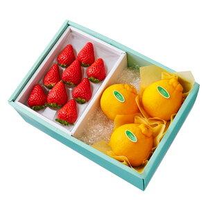【公式】 新宿高野 ストロベリー9&デコポン #29100 ? フルーツ ギフト 果物 内祝い 内祝 フルーツギフト 引越し内祝い 新築内祝い 開店内祝い お見舞い 盛り合わせ フルーツ詰め合わせ 詰め