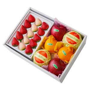 【公式】 新宿高野 紅白いちご&旬果A #29100?フルーツ ギフト 果物 内祝い 内祝 高級 いちご フルーツギフト 引越し内祝い 新築内祝い 開店内祝い お見舞い 盛り合わせ フルーツ詰め合わせ