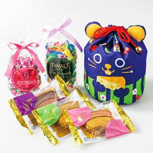 【公式】 新宿高野 干支 ねずみ巾着袋E?チョコ チョコレート フルーツ フルーツチョコ フルーツチョコレート ギフト バームクーヘン バウムクーヘン バウム バレンタイン 2020 バレンタイン