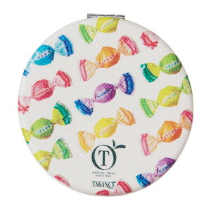 コンパクトミラー フルーツチョコレート TAKANO×LOFT