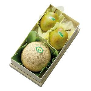 【公式】 新宿高野 マスクメロン&ラ・フランスセット #11242 | 高級メロン 高級フルーツ メロン 果物 フルーツ ギフト 内祝い お土産 手土産 フルーツギフト くだもの お返し プレゼント 退職