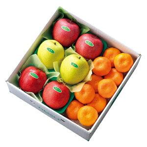 【公式】 新宿高野 ウインターフルーツC #53372 | フルーツ ギフト フルーツギフト 果物 くだもの プレゼント お祝い 御祝 内祝い 内祝 お供え お礼 りんご リンゴ ふじ 王林 みかん ミカン お見