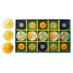 【公式】 新宿高野 フルーツゼリー15入WE | フルーツ ギフト フルーツギフト ゼリー お返し お取り寄せスイーツ フルーツゼリー 内祝い かわいい 果物ゼリー お供え プレゼント 果物 スイーツ