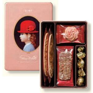赤い帽子「エレガント」クッキー詰合せお菓子 引越し 挨拶 ギフト お返し 法要 引き出物 香典返し 粗供養