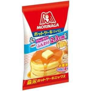 店内全品ポイント3倍♪森永 ホットケーキミックス 600g×12袋