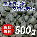 【送料無料】メール便 コーヒー 生豆 エメラルドマウンテン 500g(250g×2)【同梱不可】