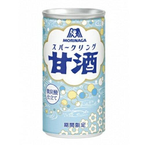 【送料無料】 森永 甘酒 スパークリング 190g缶×30本入 同梱分類【A】※北海道・沖縄は別途送料1080円がかかります。