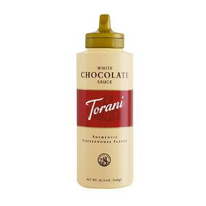 東洋ビバレッジ トラーニ ホワイトチョコレートソース 468g×4本 【送料無料(一部地域を除く)】