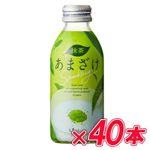 黄桜 抹茶あまざけ Sparkling140g×20本入×2ケース【同梱不可】