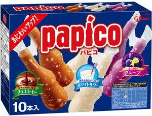 (本州一部冷凍送料無料) 江崎グリコ パピコマルチパック 8入(冷凍)
