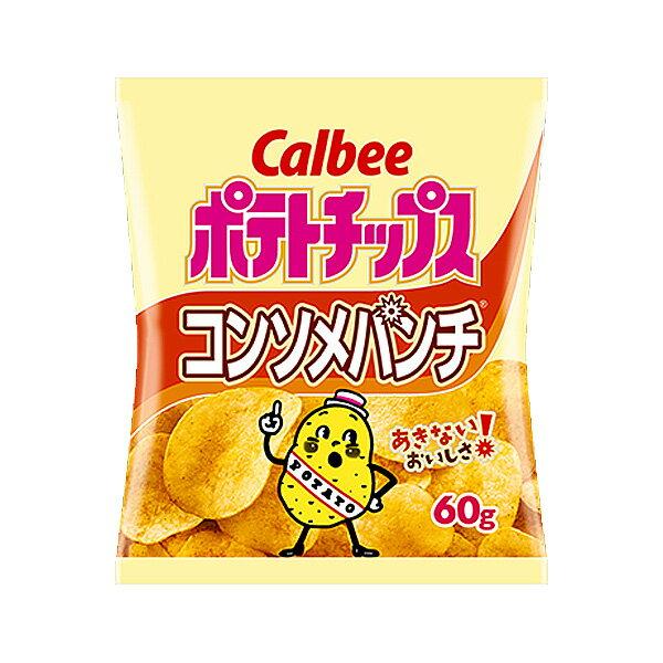 カルビー 60gポテトチップス コンソメパンチ 12入(HLS_DU)