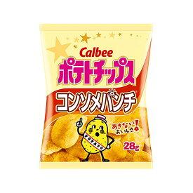 カルビー ポテトチップスコンソメパンチ 28g×24入(HLS_DU) 【ラッキーシール対応】@