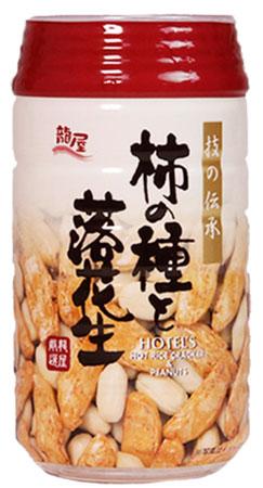 (自販機用)龍屋物産 柿の種と落花生 24入 【ラッキーシール対応】