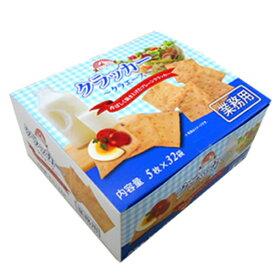 (本州一部送料無料)前田製菓 業務用クラッカー クラエース 5枚×32袋 6入 【ラッキーシール対応】