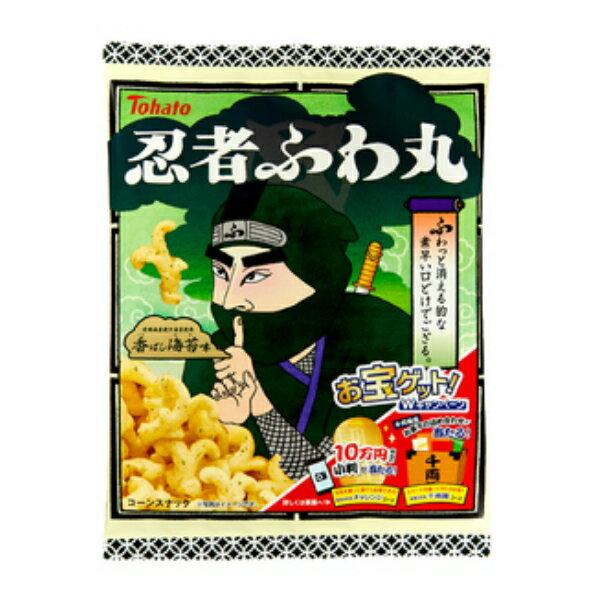 東ハト 忍者ふわ丸 香ばし海苔味 65g×12入(スーパーセール開催中)