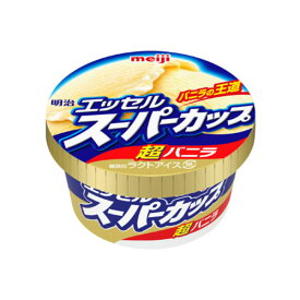 明治乳業 エッセルスーパーカップ超バニラ 24入(冷凍) 【ラッキーシール対応】
