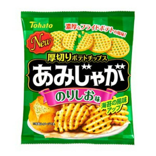 (特売)東ハト あみじゃが のりしお味 12入 【ラッキーシール対応】