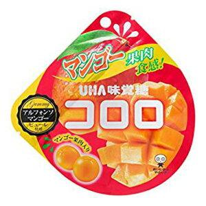 (賞味期限2020.4月末)味覚糖 コロロ マンゴー 6入 *【ラッキーシール対応】@