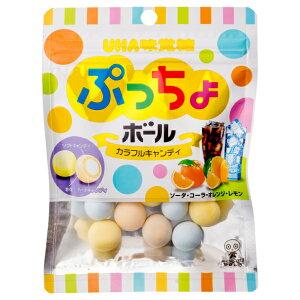 味覚糖 ぷっちょボール カラフルアソート 6入 【ラッキーシール対応】