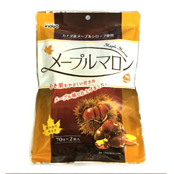稲葉ピーナツ メープルマロン 12入 【ラッキーシール対応】