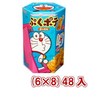 (本州送料無料) 東ハト ドラえもん ぷくポテ チーズ味 (6×8)48入 (ケース販売)