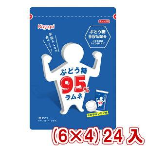 (本州一部送料無料) 春日井 ぶどう糖95%ラムネ (6×4)24入 【ラッキーシール対応】