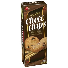 ブルボン 9枚 チョコチップクッキー 12入 【ラッキーシール対応】@