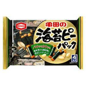 (本州一部送料無料) 亀田製菓 海苔ピーパック(12×2)24入 (Y12) 【ラッキーシール対応】