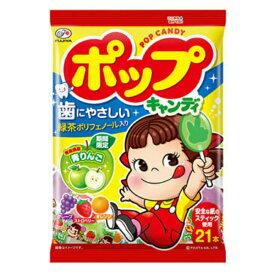 不二家 ポップキャンディ袋 6入 【ラッキーシール対応】@