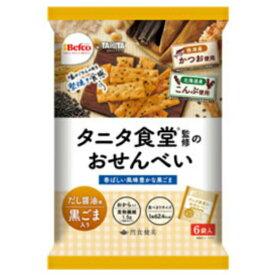 栗山米菓 タニタ食堂監修のおせんべい 黒ごま 12入 【ラッキーシール対応】@