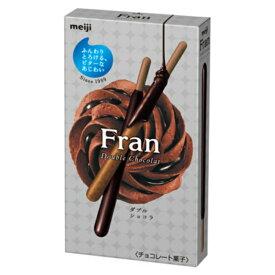 (本州送料無料) 明治 フラン 9本 ダブルショコラ (10×4)40入