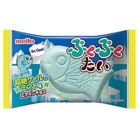 名糖 ぷくぷくたいミント エアインチョコ 10入 【ラッキーシール対応】
