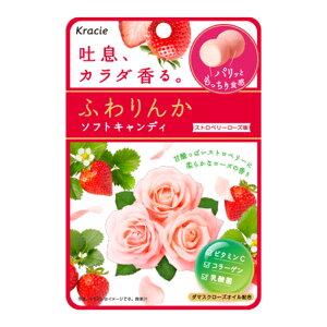 クラシエ ふわりんかソフトキャンディ ストロベリーローズ味 10入 【ラッキーシール対応】
