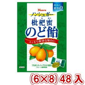 (本州一部送料無料)カンロ ノンシュガー枇杷蜜のど飴 (6×8)48入 (Y10) 【ラッキーシール対応】