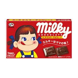 不二家 12粒 ミルキーチョコレート 10入 【ラッキーシール対応】@