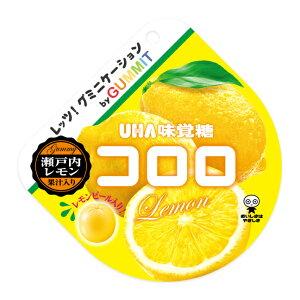 (賞味期限2020.5月末)味覚糖 コロロ GUMMIT 瀬戸内レモン 6入 *【ラッキーシール対応】@