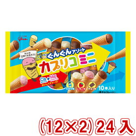(本州送料無料) 江崎グリコ カプリコミニ大袋 (12×2)24入 (Y12)(ケース販売)
